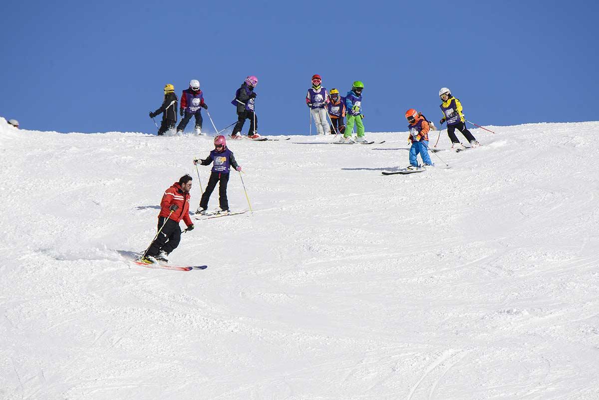 corso di sci Champoluc Antagnod